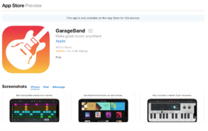 Free music apps. Music technology
