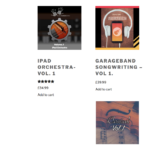 iOS course, garageband app. Music education