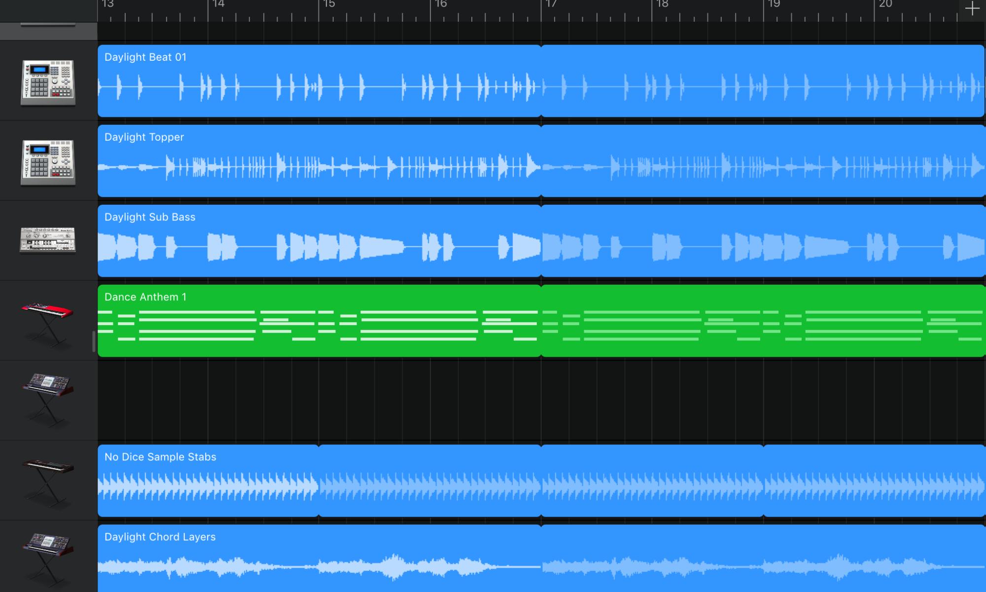iPad Music Production