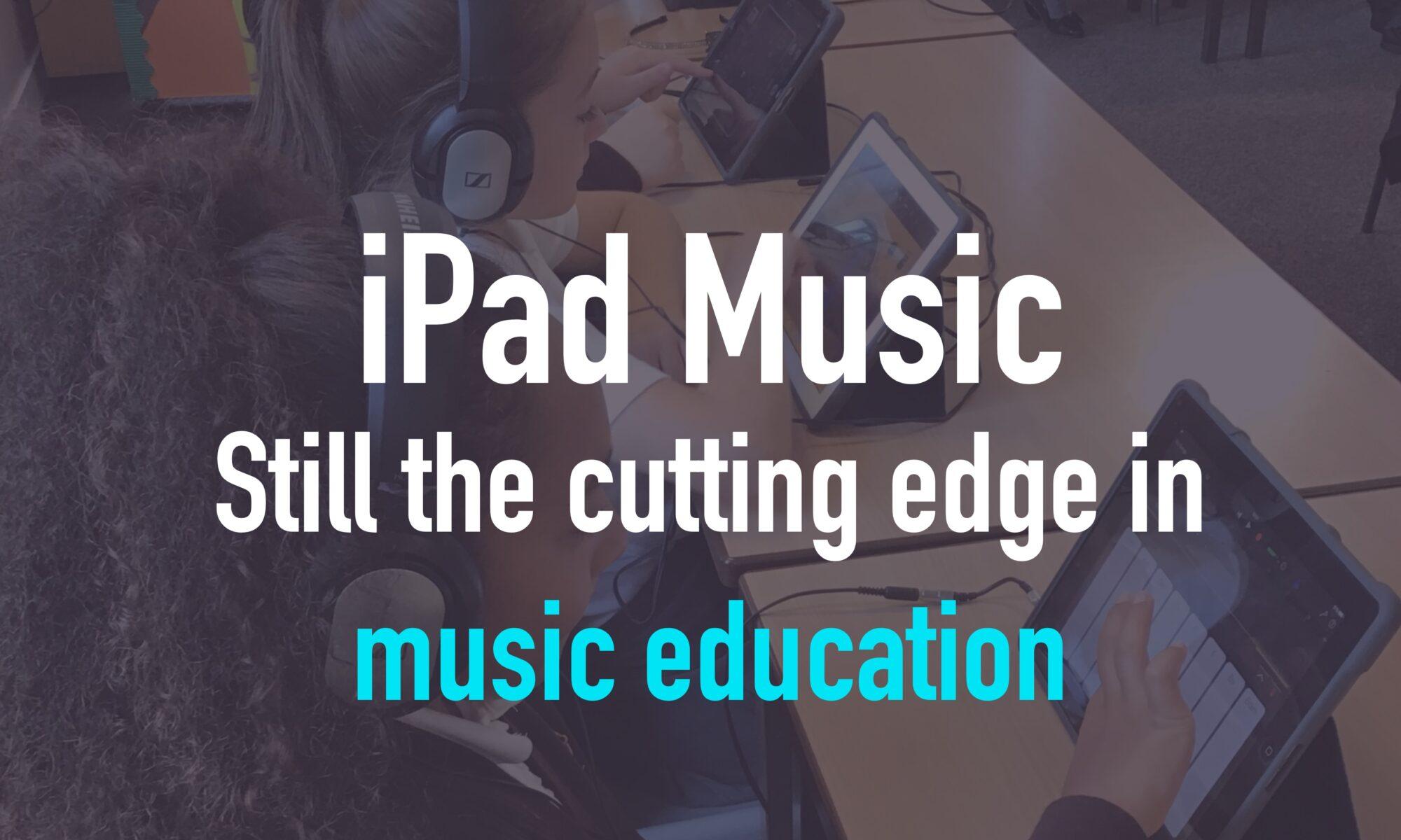 iPad music teaching