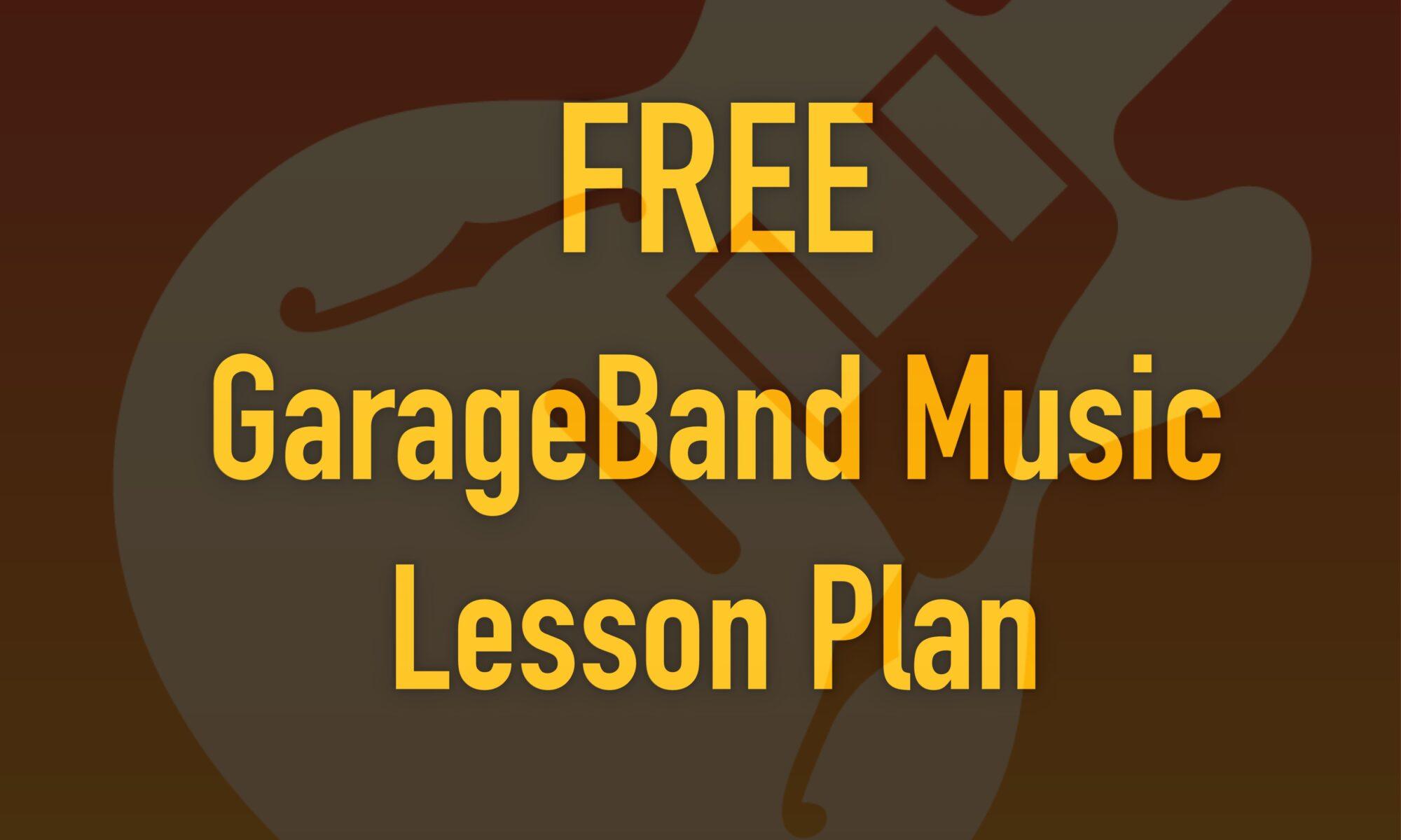 GarageBand on the iPad. Simple Lesson