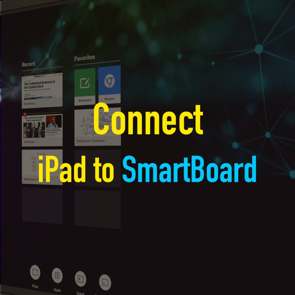 iPad connect to smartboard